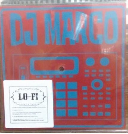 LP DJ MARCO - (VINYL 7 POLEGADAS QUADRADO) - BEAT INSTRUMENTAL