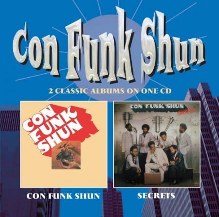 CON FUNK SHUN - 2 CLASSIC ALBUNS ON ONE CD - Con Funk Shun / Secrets
