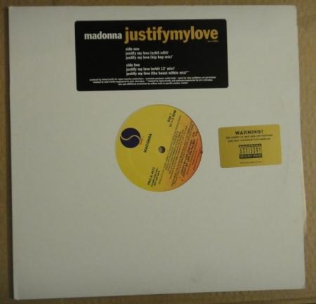 LP Madonna - Justify My Love VINYL IMPORTADO