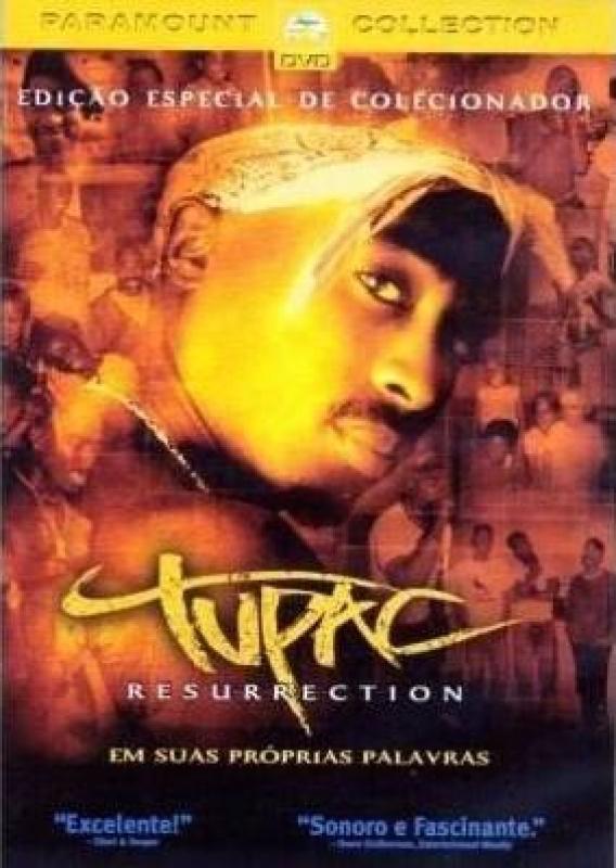 Tupac - Resurrection  Ed Especial (DVD) 2PAC