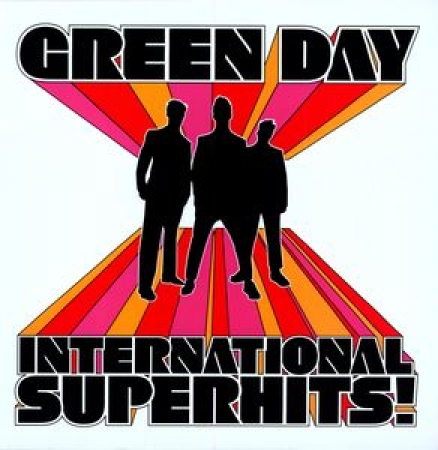 LP Green Day - International Superhits IMPORTADO LACRADO