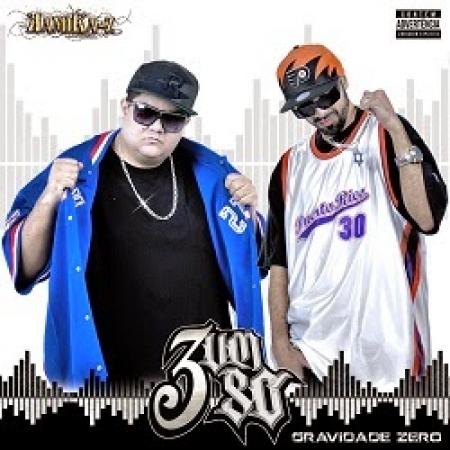 3 Um So - Gravidade Zero (2015) (CD) RAP NACIONAL