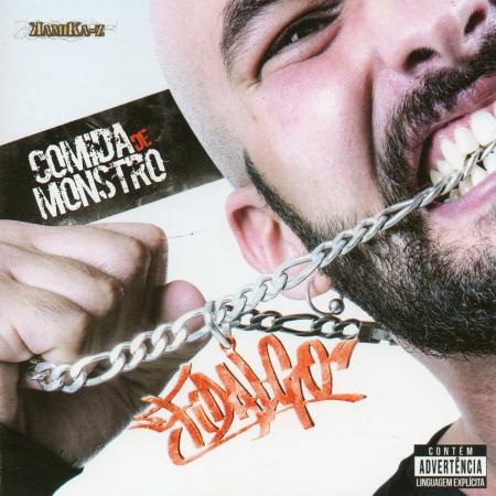 Fidalgo - Comida De Monstro (CD) RAP NACIONAL