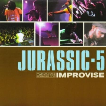 JURASSIC 5 - IMPROVISE (CD SINGLE)