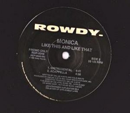 LP Monica - Like This And Like That