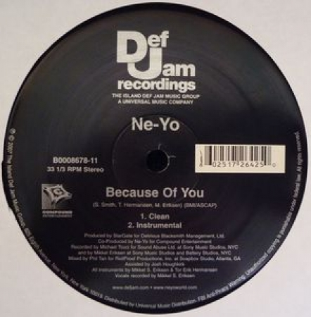 LP Ne-Yo - Because Of You