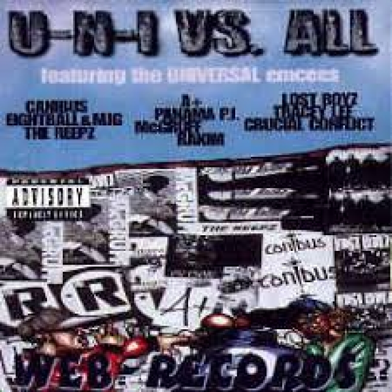 U-N-I VS. All - Featuring The Universal Emcees (CD)