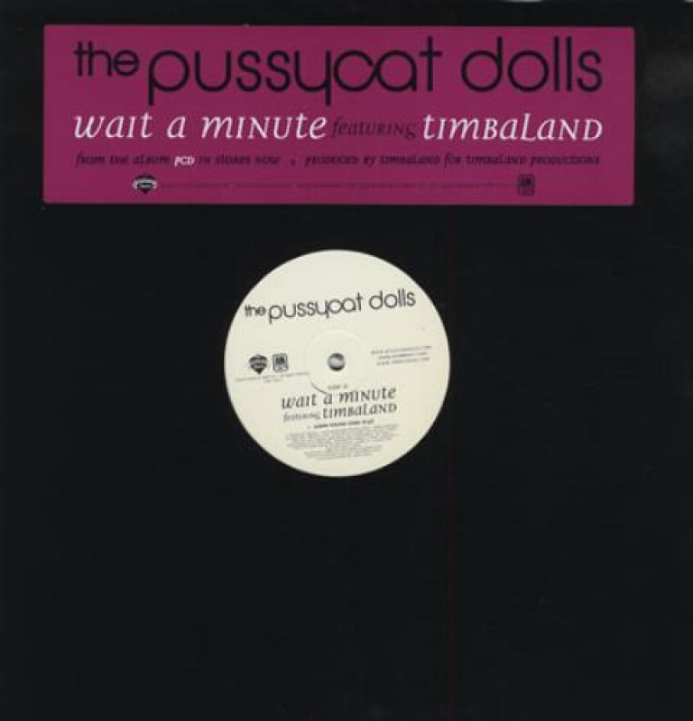 LP The Pussycat Dolls - Wait A Minute (VINYL SINGLE IMPORTADO)