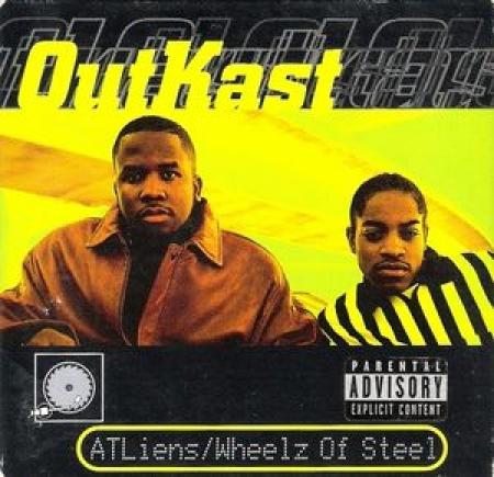 OutKast - ATLiens / Wheelz Of Steel (CD Single)
