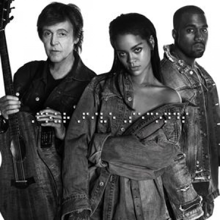 CD Rihanna Fourfiveseconds Single IMPORTADO