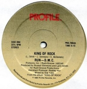 LP Run DMC - King Of Rock