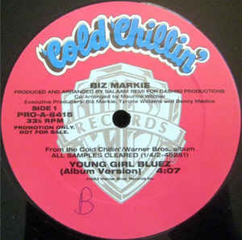 LP Biz Markie - Young Girl Bluez LP SINGLE