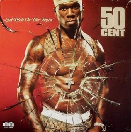 LP 50 Cent - Get Rich or Die Tryin (VINYL DUPLO IMPORTADO LACRADO)