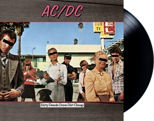 LP AC DC - Dirty Deeds Done Dirt Cheap IMPORTADO LACRADO