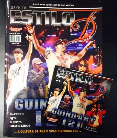 REVISTA ESTILO D - N 1 CAPA - GUINDART 121 + CD