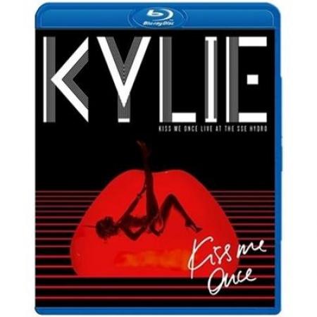 Kylie Minogue Kiss Me Once Live IMPORTADO Triplo BLURAY