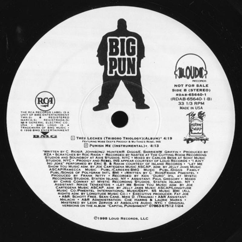 LP Big Pun - Punish Me (SINGLE)