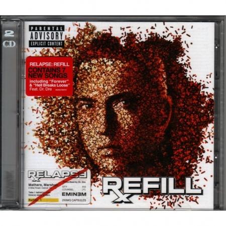 Eminem - Relapse Refill (CD Duplo) ( Nacional )