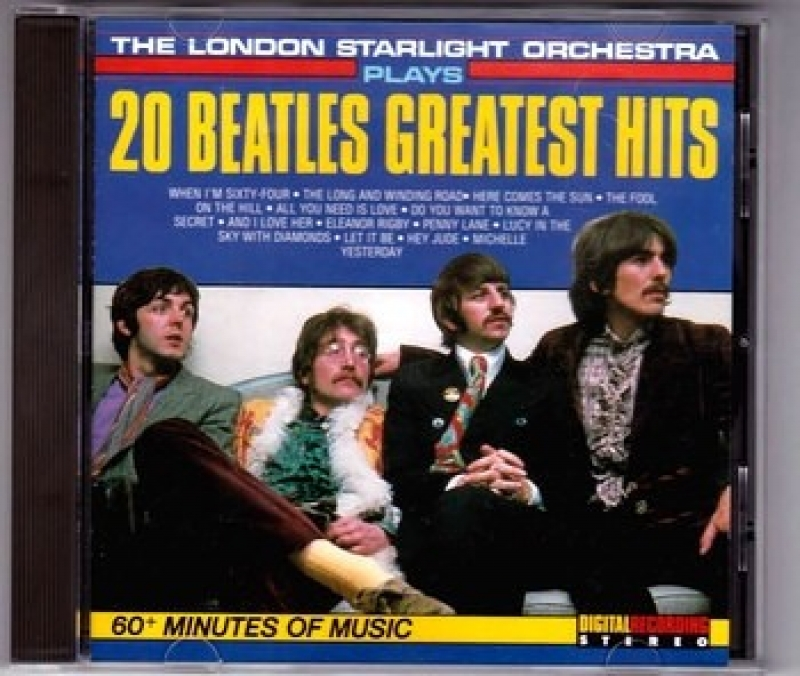 The Beatles - 20 Beatles Greatest Hits THE LONDON STARLIGHT ORCHESTRA (CD)