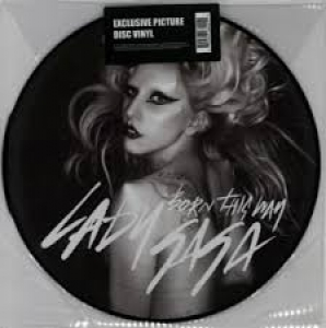 LP LADY GAGA - Born This Way (VINYL PICTURE IMPORTADO HOLLAND LACRADO)