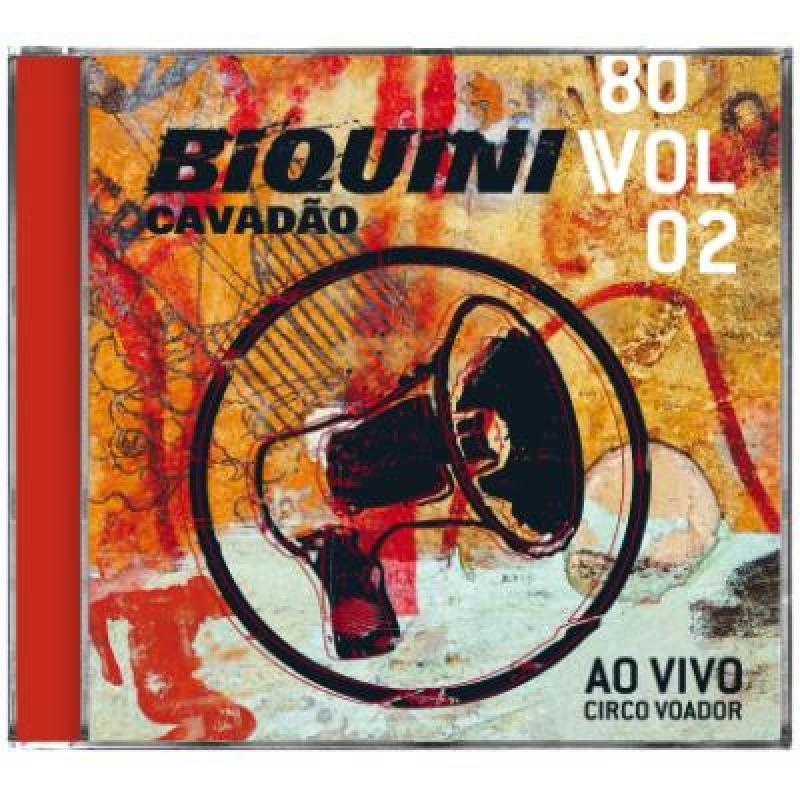 Biquini Cavadao - Ao Vivo No Circo Voador (CD)