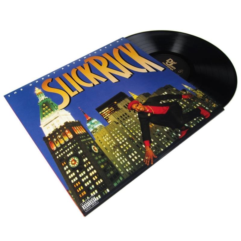 LP Slick Rick - Great Adventures of Slick Rick (VINYL IMPORTADO LACRADO)