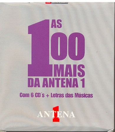 Box 100 MAIS DA ANTENA 1 - VOL 1 (BOX 6 CDs)