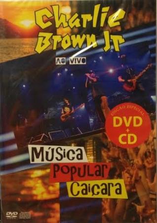 Charlie Brown Jr - Musica Popular Caiçara  ao Vivo - DVD + CD