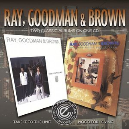 CD Ray Goodman and  Brown Take It to the Limit / Mood for Lovin Importado Inglaterra