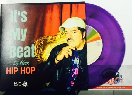 LP DJ HUM - ITS MY BEAT / LOUNGE 75 SUNSET (VINYL COMPACTO 7 POLEGADAS ROXO)