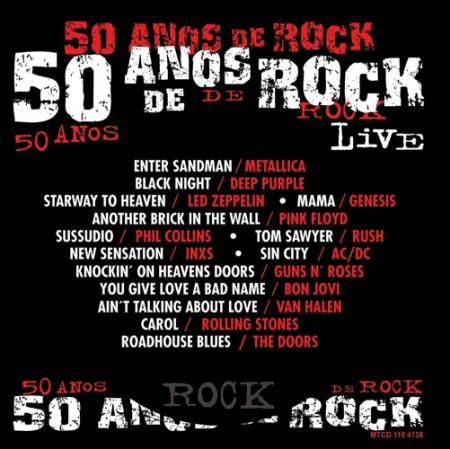 50 Anos de Rock - Live (CD)
