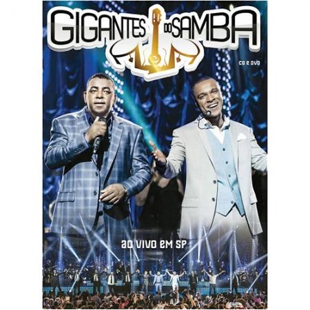 Gigantes Do Samba - Ao Vivo Em Sp Dvd + Cd