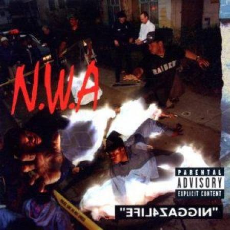 NWA - Niggaz4Life + bonus EP 100 MILES AND RUNNIN IMPORTADO (LACRADO)