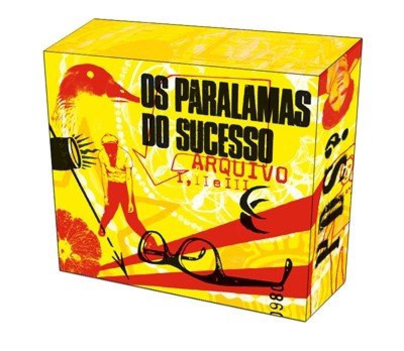 Os Paralamas Do Sucesso - Arquivos (Box Com 3 Cds)