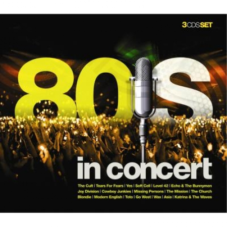 80 s in Concert - Trilogy (3 CDs) - Varios