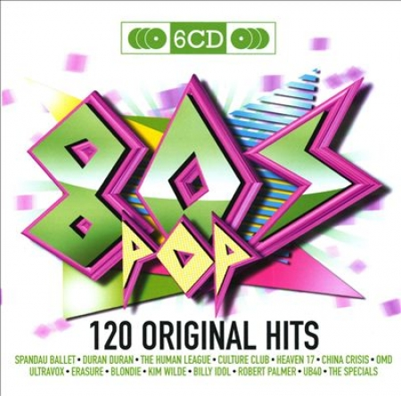 80s Pop - Various - Original Hits - 80s Pop (6 CDs)