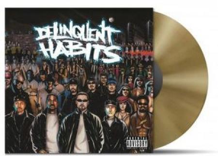 LP Delinquent Habits - Delinquent Habits (Gold Vinyl) (Colored Vinyl) IMPORTADO