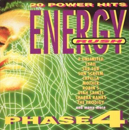Energy Rush - Phase 4 (CD)