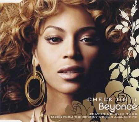 LP Beyonce - Check On It (VINYL SINGLE)