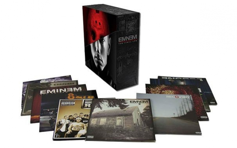 BOX LP EMINEM - The Vinyl LPs 10 LP Box Set