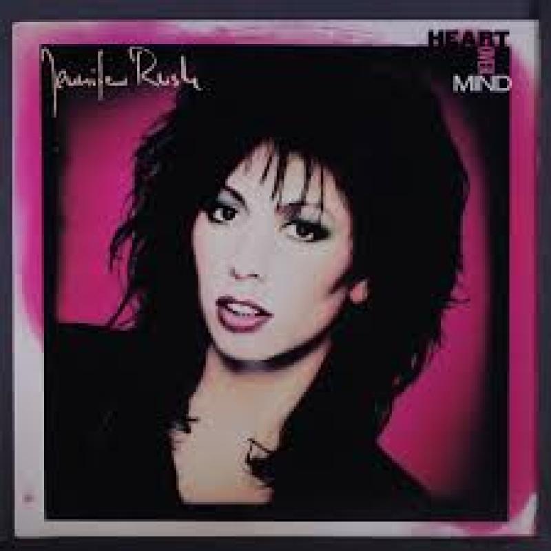 LP Jennifer Rush - Heart Over Mind VINYL IMPORTADO