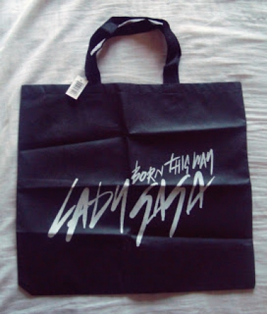 ECO BAG LADY GAGA - Born This Way (PRETA)