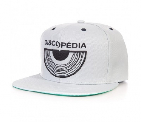BONE DISCOPEDIA - SNAPBACK (CINZA GELO)