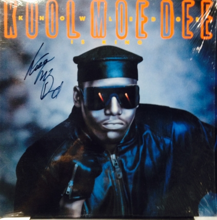 LP Kool Moe Dee - Knowledge Is King ( Importado Autografado )