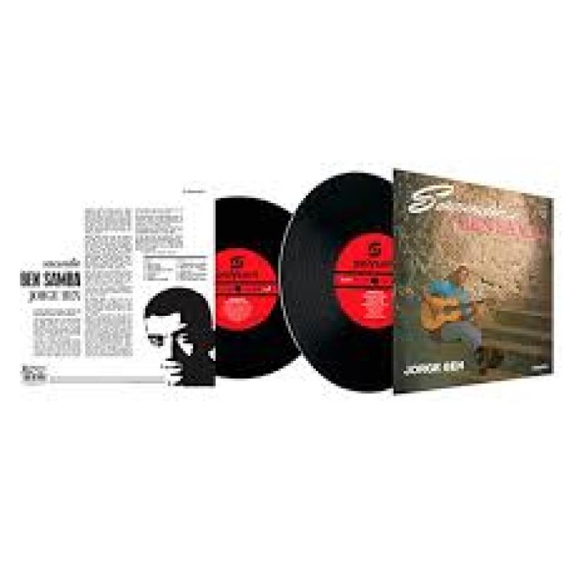 LP Jorge Ben - Sacundin Ben Samba - Vinyl 180 Gramas