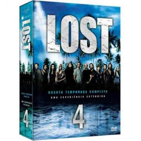 Box Lost - 4 Temporada (DVD) LACRADO