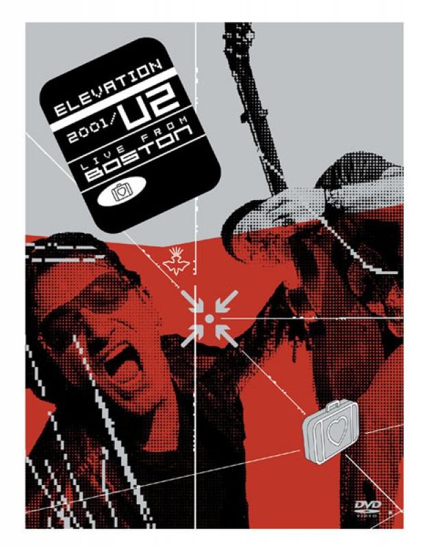 U2 - Elevation 2001 Live Boston DVD DUPLO LACRADO
