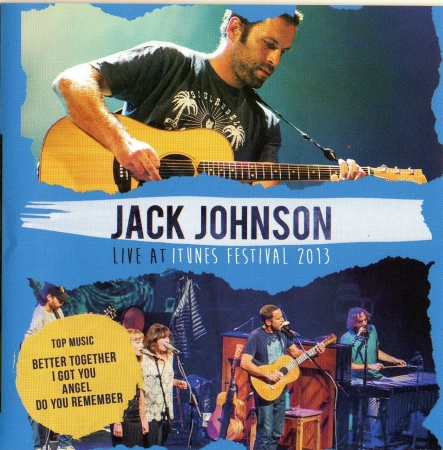 Jack Johnson - Live At Itunes Festival 2013 CD