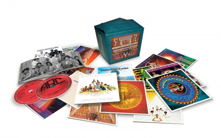 Box Earth, Wind & Fire - The Columbia Masters (16 CDs)