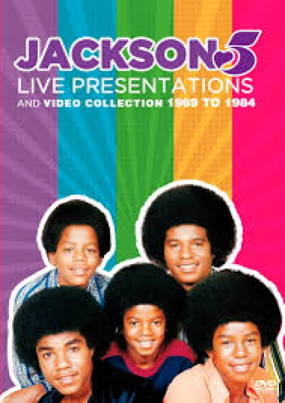 Jackson 5 - Live Presentations And Videos Collection 1969 To 1984 DVD